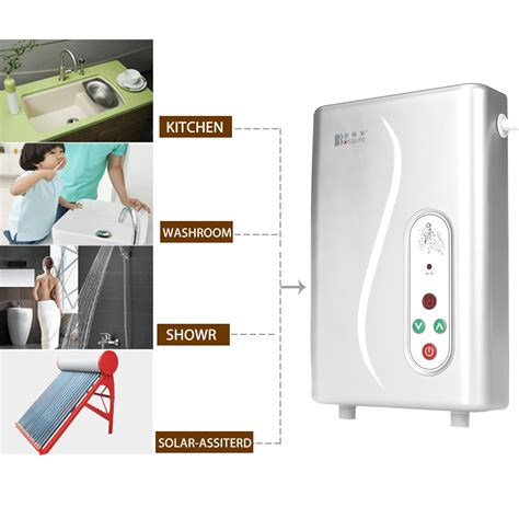 instant water for kitchen electric water heater instant shower panel system kit
