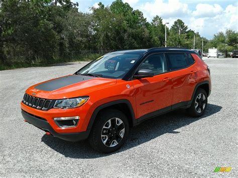 orange jeep compass 2017 spitfire orange jeep compass trailhawk 4x4 122769724