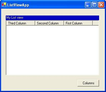 layout modification xml not working modify listview columns at run time by using xml codeproject