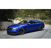 Why So Blue Mercedes Benz S Class Got RDBLA And Wald
