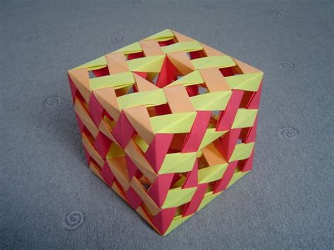 Origami Modules - hello there origami menger sponge using penultimate modules
