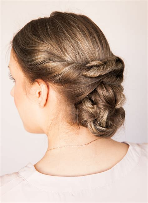 Braided Hairstyles Tutorials by Braided Updo Tutorial Inspired By This