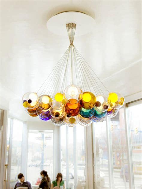 glass balls chandelier amazing glass chandeliers add to bocci s credibility