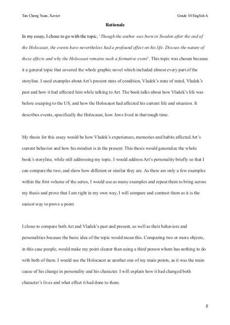 Maus Essay maus 1 essay