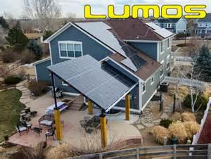 Solar Sconces Lumos Lsx Patio Awnings Amp Solar Canopy Contemporary