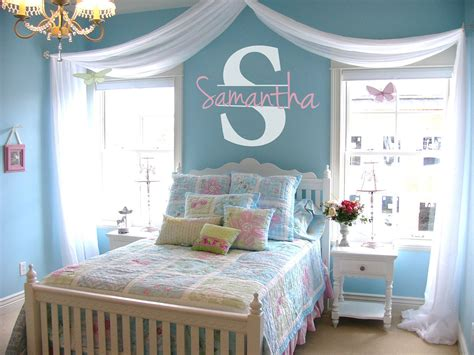 Personalized Bedroom Decor by Personalized Name Initial Vinyl Wall Decal Sticker