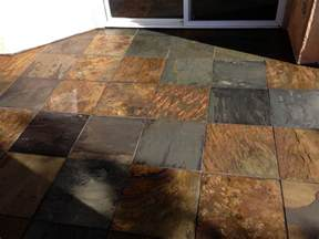 how to clean a slate patio slate patio acid wash clean and color seal yelp