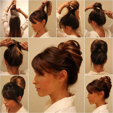 diy hairstyles male inside out ponytail bun hairstyle pictures photos and