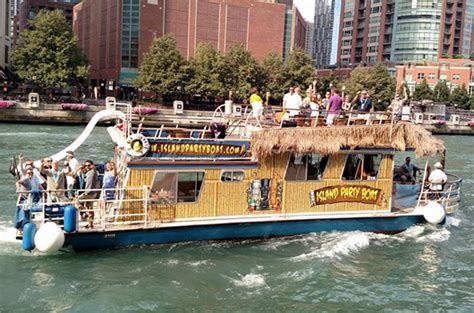 chicago river pontoon boat rental chicago boat rental photos island party boat