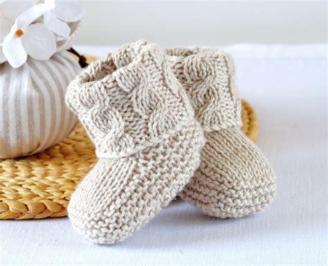 knitting pattern aran socks baby booties knitting pattern cable aran baby shoes quick