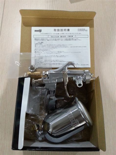 Spray Gun Meiji F110 G13 Original Made In Japan jual spray gun tabung atas meiji f110 g13 asli original