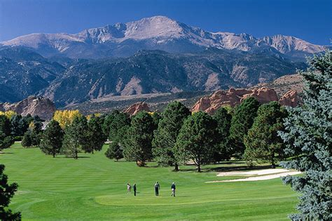 Garden Of The Gods Camels Club Golf In Colorado Springs Garden Of The Gods Collection