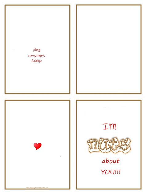 sided print greeting card template easy gift ideas free printable gifts