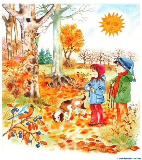 imagenes de otoño y primavera im 225 genes educativas el oto 241 o las estaciones del a 241 o