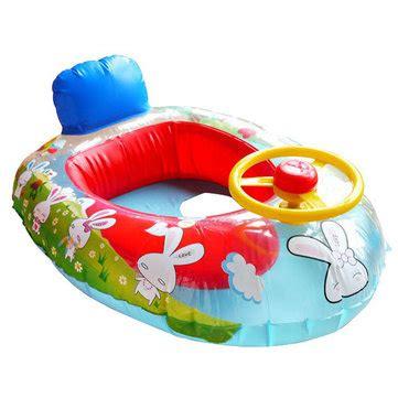 opblaasboot voor baby wheel horn kids swim ring seat float baby boat inflatable