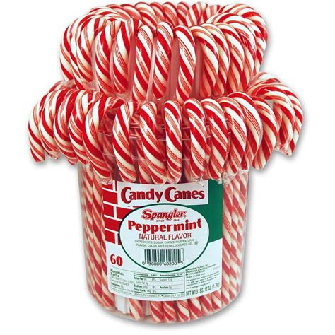 candy cane red white peppermint candy canes spangler candy