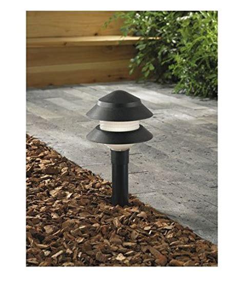 Portfolio Black Low Voltage 4 Watt Incandescent Path Light Best Low Voltage Landscape Lighting Reviews