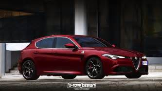 Second Alfa Romeo Giulietta 2019 Alfa Romeo Giulietta Successor Rendered With Giulia
