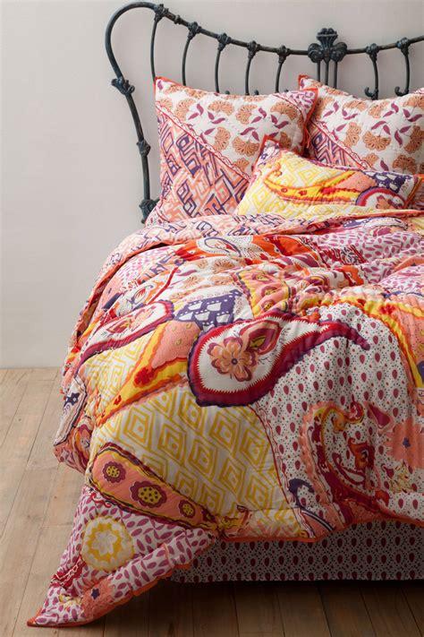 anthropologie daydreamer quilt sz size bedding