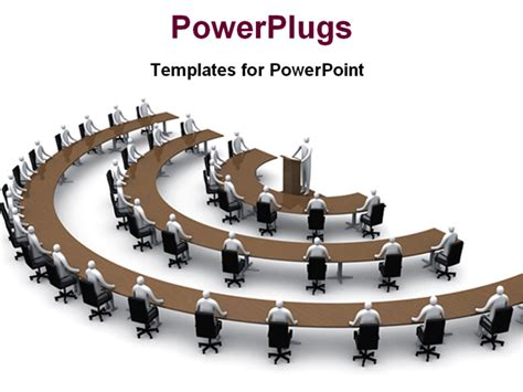 conference powerpoint template powerpoint template conference session in semi circular