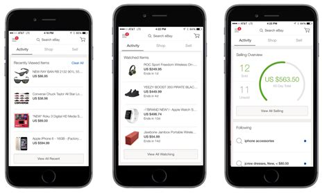 www ebay mobile ebay 4 0 introduces a unified mobile experience plus