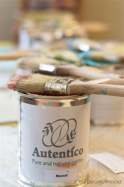chalk paint de autentico talleres de chalk paint en crea decora recicla kireei