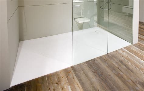 Design Line Kitchens 00xl shower tray in corian by antonio lupi ambient