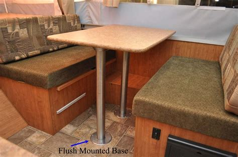 rv folding dinette table ap products 013 916 21 quot rv dinette table leg post