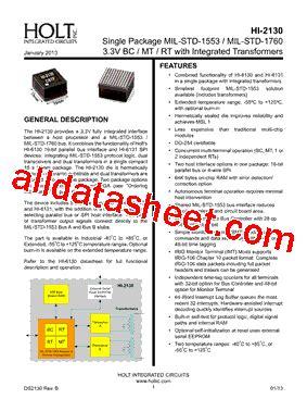 holt integrated circuits wiki hi 2130 datasheet pdf holt integrated circuits