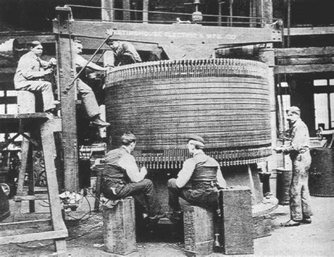 induction generator history tesla at niagara
