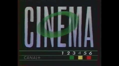 film canal plus enigma canal plus jingle g 233 n 233 rique cin 233 ma 1988 youtube