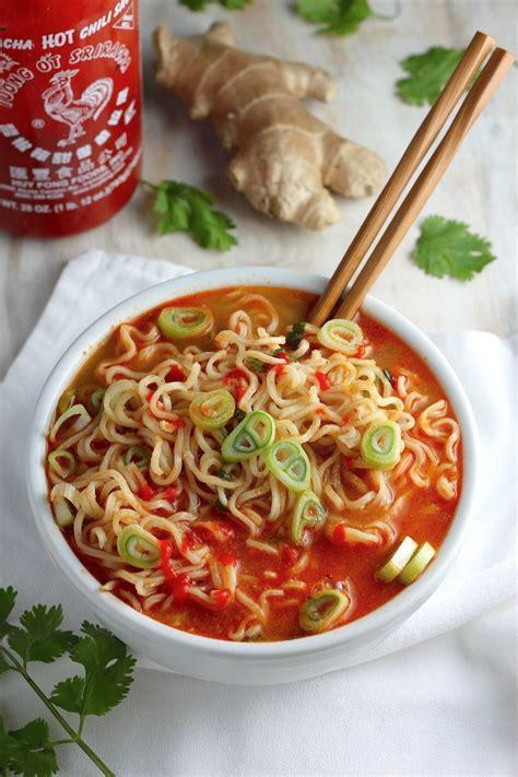 ramen noodle soup recipes vegetable healthier ramen noodle soup recipe dishmaps