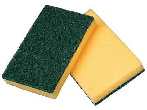 Scouring Pad vileda professional synthetic sponge with scouring pad