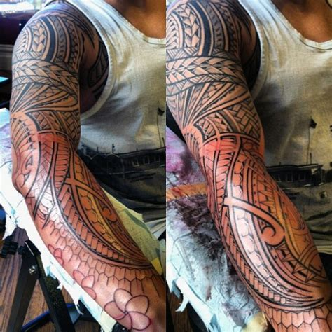 island sleeve tattoo designs 60 hawaiian tattoos for traditional tribal ink ideas