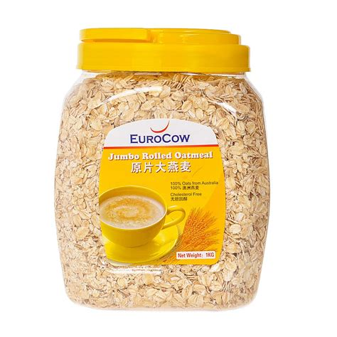 Free Lo Muesli Cereal 500g eurocow jumbo rolled oatmeal 1kg