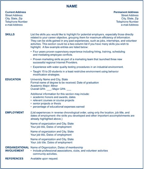 Functional Resume Sles For Career Changers Certified Nursing Assistant S 3 Different Resume Types For Nursing
