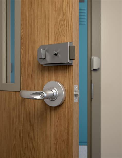 Door Barricade Hardware by Door Barricade Hardware Drop Open Bar Security Door Lock