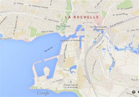 map of la rochelle la rochelle western world easy guides