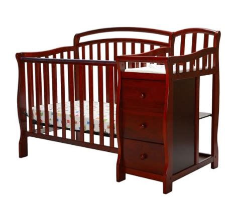 Mini Crib Combo On Me Casco 3 In 1 Mini Crib And Dressing Table Combo Cherry Desertcart