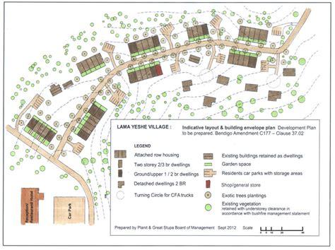 layout village urban design and master planning