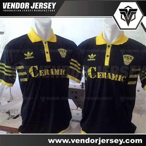 Baju Bola Berkerah pembuatan baju futsal berkerah pemesanan dari bekasi vendor jersey