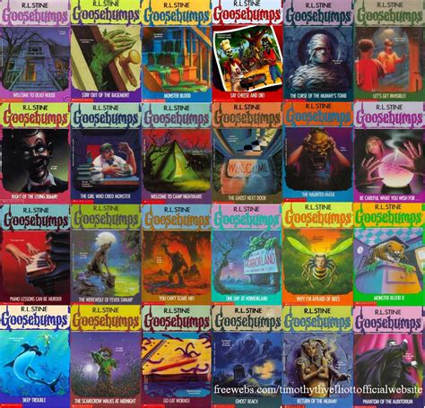 goosebumps film recommended age golden age 4 kids books we loved volume 1 goosebumps