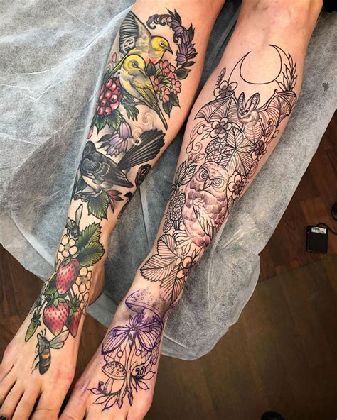 tato kaki keren bisa buat inspirasi nih okezone lifestyle