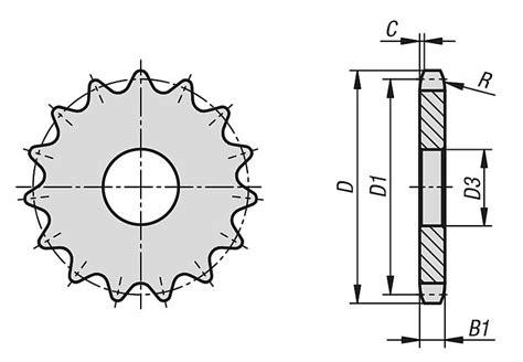 seleccion de cadenas y sprockets norelem discos de pi 241 ones simples 3 4 x 7 16 din iso 606