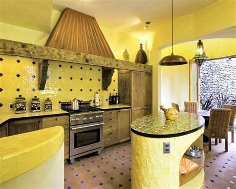yellow kitchen theme ideas black and yellow color schemes for modern kitchen decor