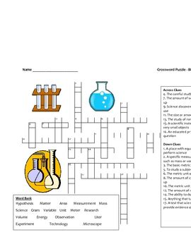 groundhog day director crossword middle school science crossword puzzle introductory