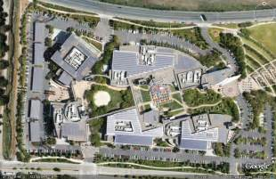 Image result for One Amphitheatre Pkwy., Mountain View, CA 94043-2316 United States