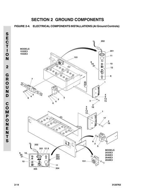jlg 2630es scissor lift wiring diagram es free