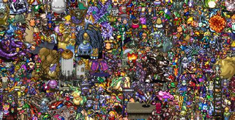 varias imagenes en una sola foto 13 000 personajes de jrpg en una sola imagen