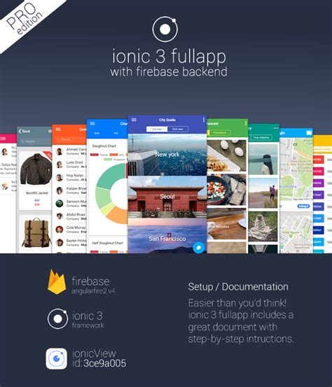 ionic layout header ionic 3 fullapp templates with firebase backend showcase